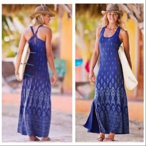 Athleta Printed Maxi Dress